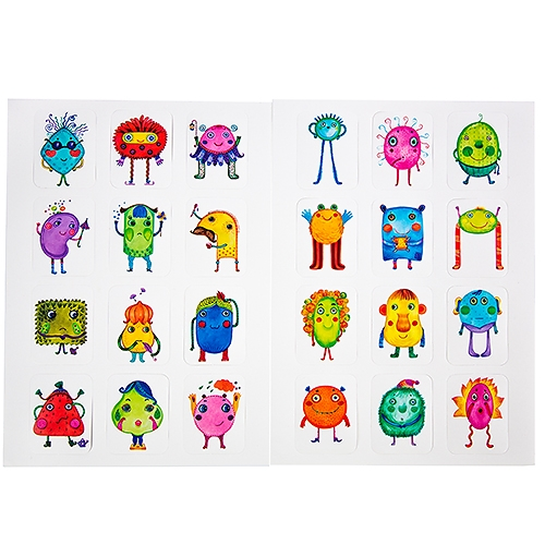 Toddles Bobbles – Carte