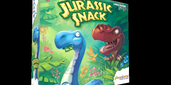 Playagame Edizioni Presenta Jurassic Snack!